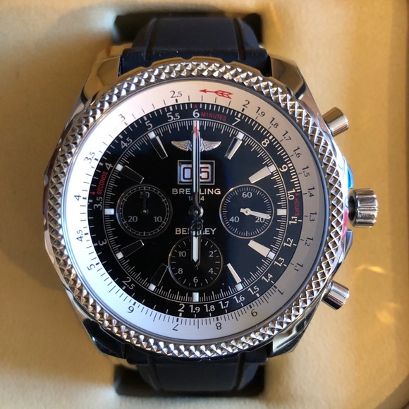breitling accessories | bentley watch a44362 authentic | poshmark